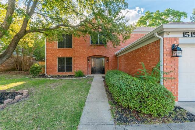1519 Warwick Drive, Mansfield, TX 76063 (MLS #14177137) :: The Real Estate Station