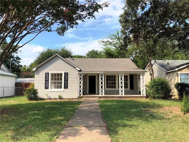 818 N Ross Avenue, Sherman, TX 75090 (MLS #14177212) :: Baldree Home Team