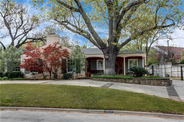 3821 Crestwood Terrace, Fort Worth, TX 76107 (MLS #14177537) :: The Real Estate Station
