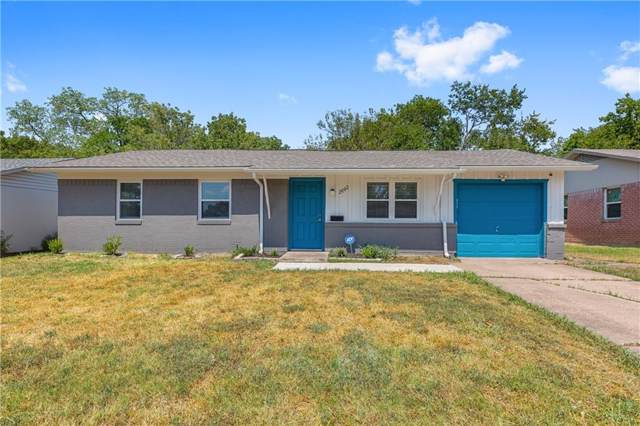 2603 Emerald Drive, Mesquite, TX 75150 (MLS #14177656) :: The Chad Smith Team