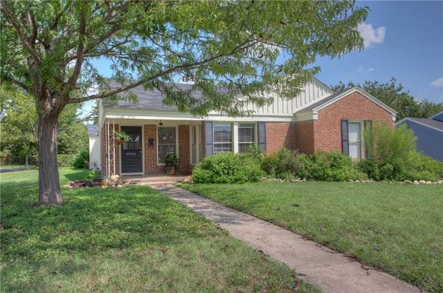 3516 W Biddison Street, Fort Worth, TX 76109 (MLS #14177659) :: All Cities Realty