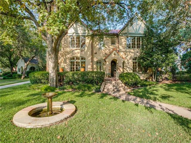 1805 Mayflower Drive, Dallas, TX 75208 (MLS #14177674) :: Kimberly Davis & Associates