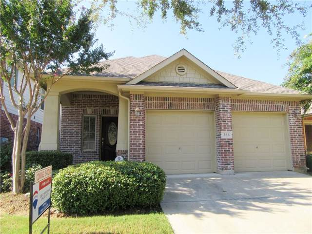 360 Bentson Drive, Argyle, TX 76226 (MLS #14177798) :: The Heyl Group at Keller Williams