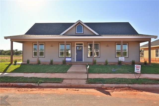 1518 Old Settlers Way, Buffalo Gap, TX 79508 (MLS #14178209) :: Ann Carr Real Estate