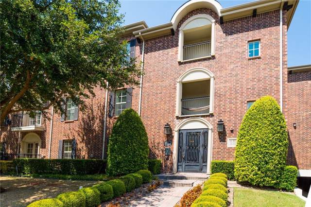 3116 Rosedale Avenue #208, University Park, TX 75205 (MLS #14178307) :: The Heyl Group at Keller Williams