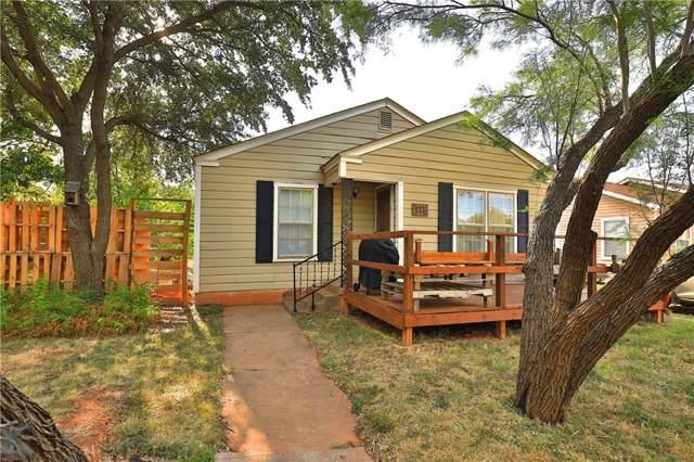 918 Sunset Drive, Abilene, TX 79605 (MLS #14178309) :: RE/MAX Pinnacle Group REALTORS