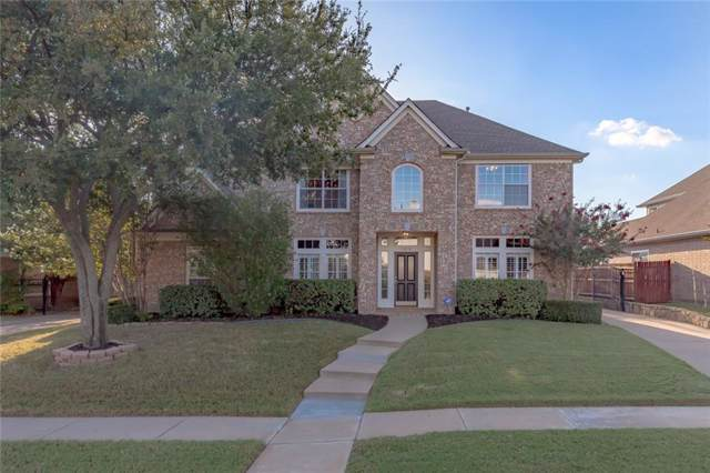 1618 Spring Creek Drive, Keller, TX 76248 (MLS #14178354) :: The Mitchell Group