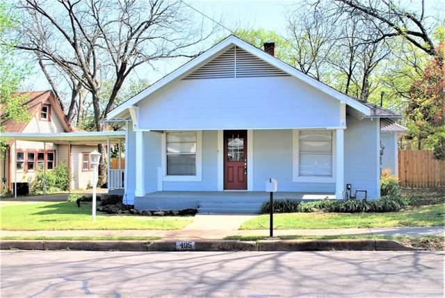 405 College Street, Cleburne, TX 76033 (MLS #14178596) :: RE/MAX Landmark