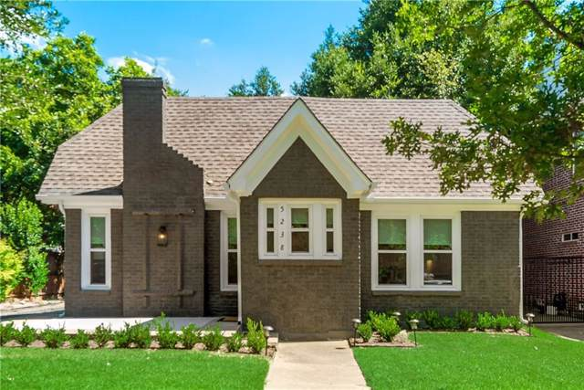 5238 Ridgedale Avenue, Dallas, TX 75206 (MLS #14178679) :: HergGroup Dallas-Fort Worth