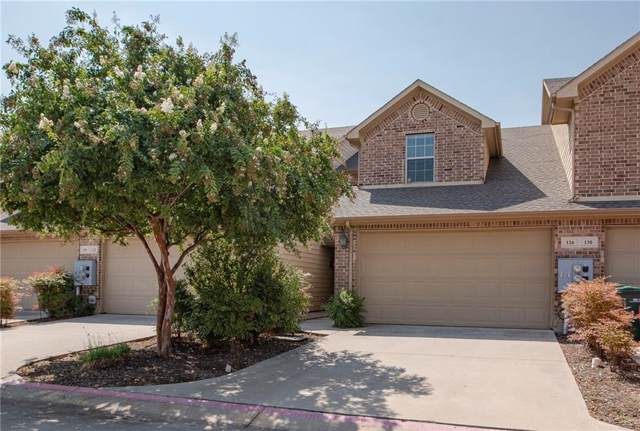 126 Barrington Lane, Lewisville, TX 75067 (MLS #14178739) :: The Rhodes Team