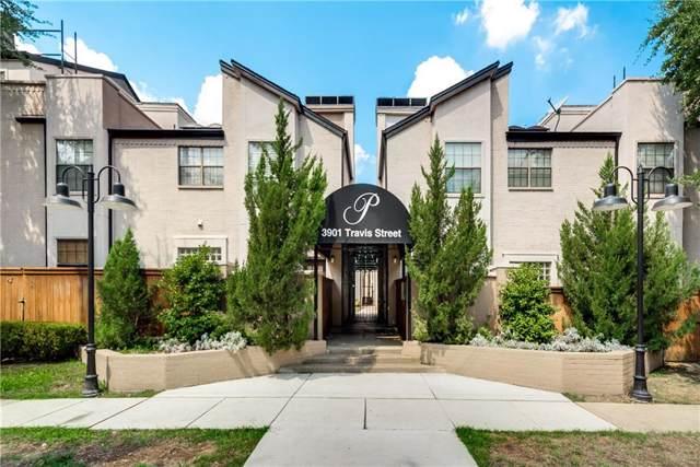 3901 Travis Street #216, Dallas, TX 75204 (MLS #14178844) :: The Hornburg Real Estate Group