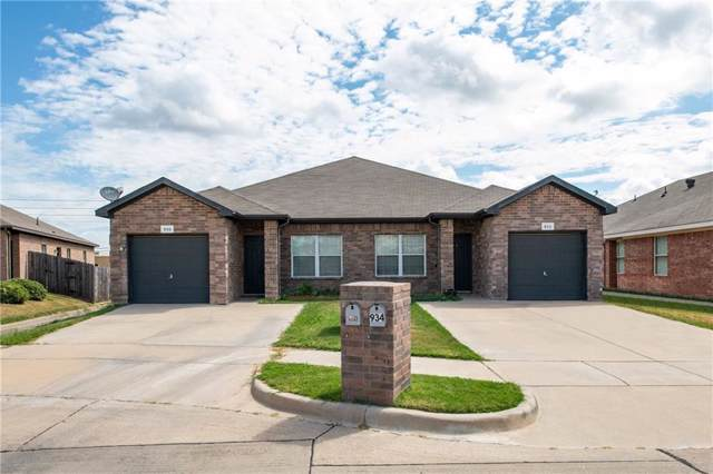 934 Walnut Street, Burleson, TX 76028 (MLS #14178936) :: Lynn Wilson with Keller Williams DFW/Southlake