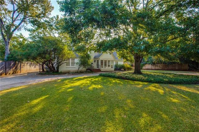 8510 Catawba Road, Dallas, TX 75209 (MLS #14179095) :: Frankie Arthur Real Estate