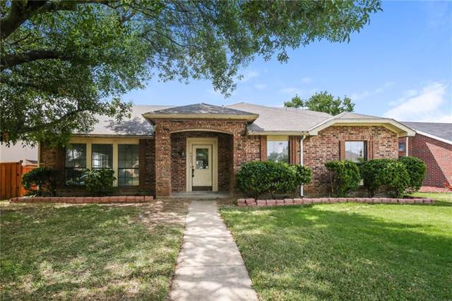 4653 Freeman Drive, The Colony, TX 75056 (MLS #14179350) :: The Heyl Group at Keller Williams