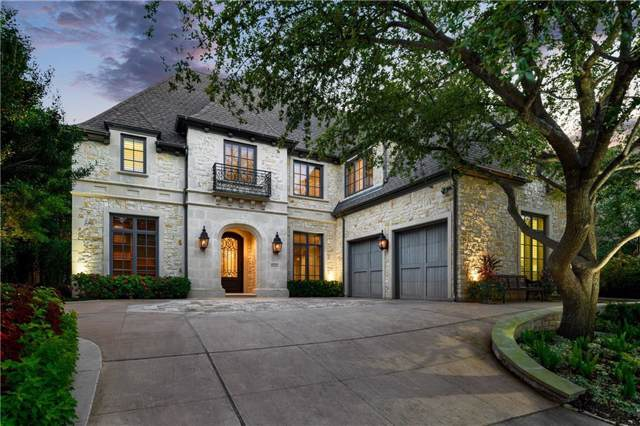 7010 Stone Meadow Drive, Dallas, TX 75230 (MLS #14179407) :: The Real Estate Station
