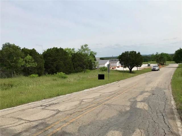 00 Travis Dr Lot 3, Mineral Wells, TX 76067 (MLS #14179471) :: All Cities Realty