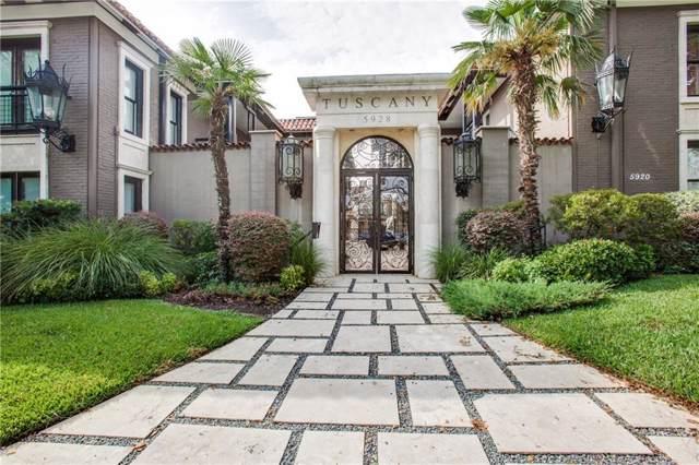 5912 Sandhurst Lane #138, Dallas, TX 75206 (MLS #14179500) :: Robbins Real Estate Group