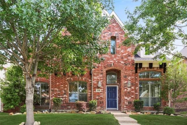 2318 Kittyhawk Drive, Frisco, TX 75033 (MLS #14179506) :: RE/MAX Town & Country