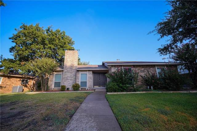 6403 Apache Court, Plano, TX 75023 (MLS #14179657) :: The Good Home Team