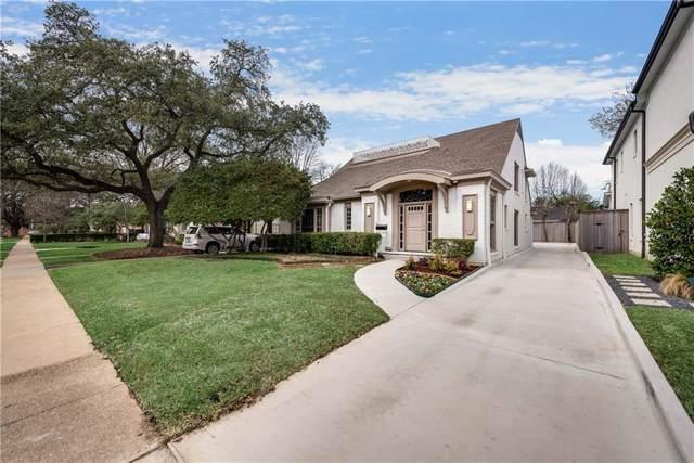 4512 Southern Avenue, Highland Park, TX 75205 (MLS #14179670) :: RE/MAX Landmark