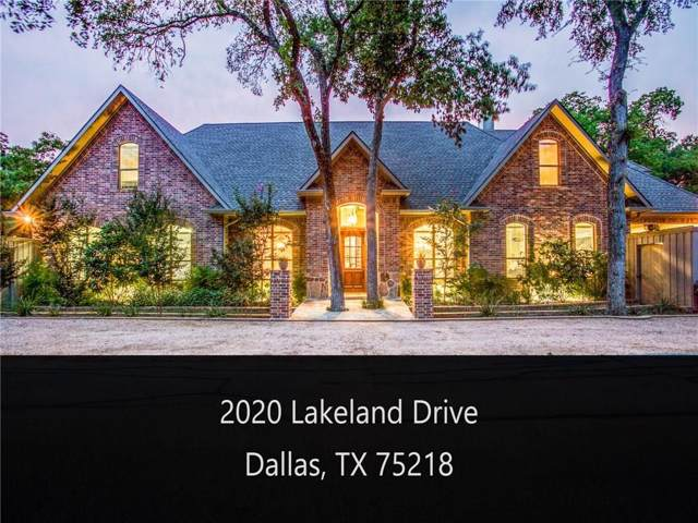 2020 Lakeland, Dallas, TX 75218 (MLS #14179700) :: Robbins Real Estate Group