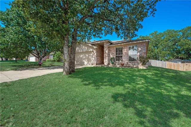 321 Pecos Drive, Weatherford, TX 76086 (MLS #14179764) :: Kimberly Davis & Associates