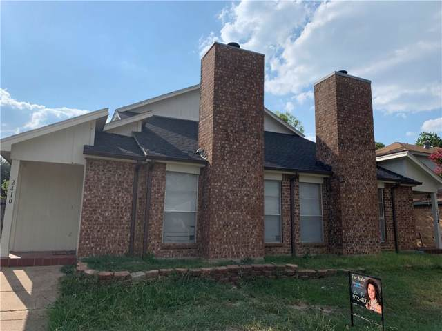 2408 Summer Place Drive, Arlington, TX 76014 (MLS #14179830) :: RE/MAX Town & Country