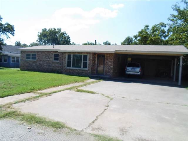 105 E Plummer, Eastland, TX 76448 (MLS #14179853) :: RE/MAX Town & Country