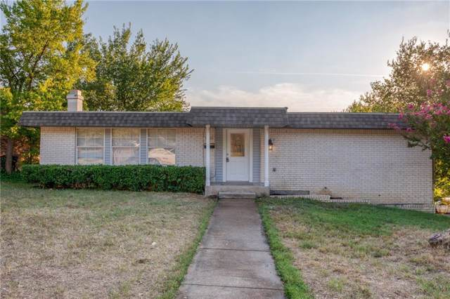 7320 Natalie Drive, Fort Worth, TX 76134 (MLS #14179858) :: RE/MAX Town & Country