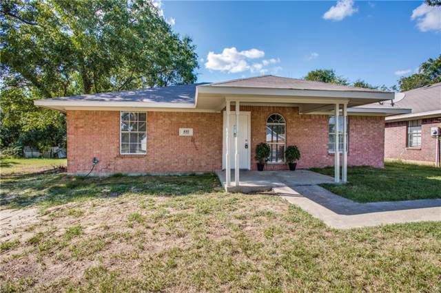 410 Frazier Street, Terrell, TX 75160 (MLS #14179886) :: The Heyl Group at Keller Williams