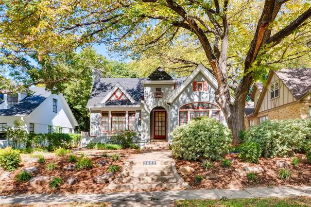 2022 Glenco Terrace, Fort Worth, TX 76110 (MLS #14179965) :: RE/MAX Town & Country