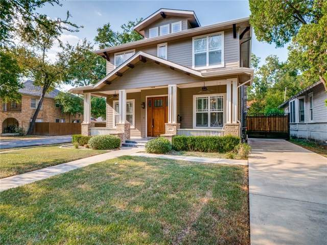 5301 Miller Avenue, Dallas, TX 75206 (MLS #14180103) :: The Real Estate Station