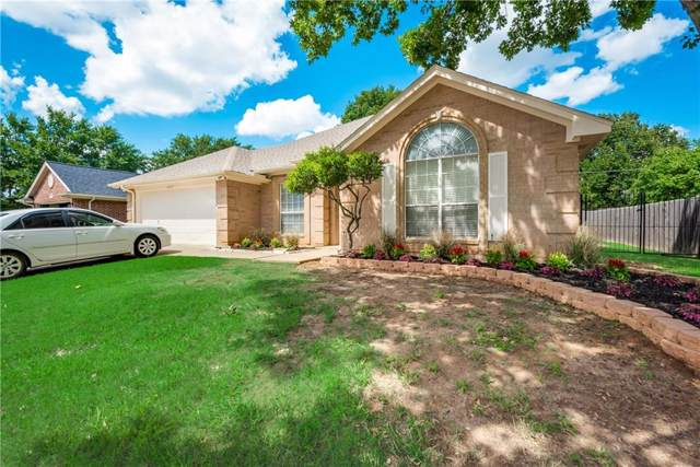 6225 Castle Creek Road, Arlington, TX 76017 (MLS #14180248) :: The Rhodes Team