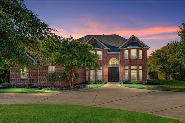 1805 Wickwood Court, Denton, TX 76226 (MLS #14180471) :: Baldree Home Team