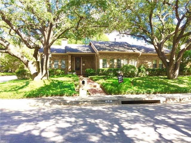 15736 Nedra Way, Dallas, TX 75248 (MLS #14180503) :: Century 21 Judge Fite Company