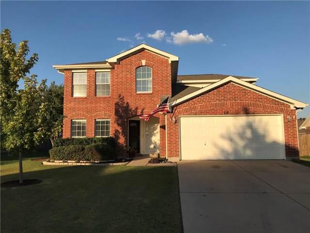218 Cedar Crest Drive, Justin, TX 76247 (MLS #14180796) :: The Real Estate Station