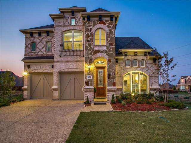 281 Chandan Way, Irving, TX 75063 (MLS #14180811) :: All Cities Realty