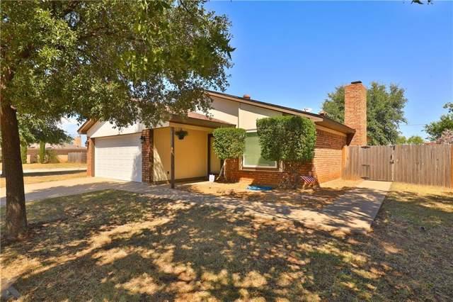 1202 Baylor Street, Abilene, TX 79602 (MLS #14180830) :: RE/MAX Landmark