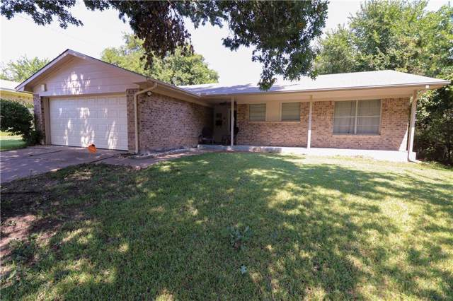 1109 E Centennial Street, Sherman, TX 75090 (MLS #14180877) :: The Heyl Group at Keller Williams