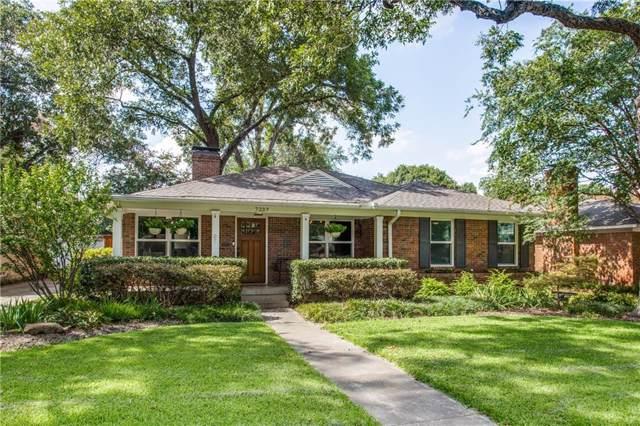 7237 Westbrook Lane, Dallas, TX 75214 (MLS #14180915) :: The Good Home Team