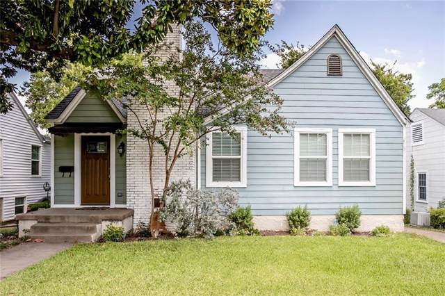 3912 Byers Avenue, Fort Worth, TX 76107 (MLS #14180955) :: The Mitchell Group