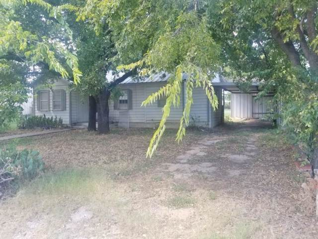 1105 N Austin Street, Comanche, TX 76442 (MLS #14180991) :: RE/MAX Town & Country