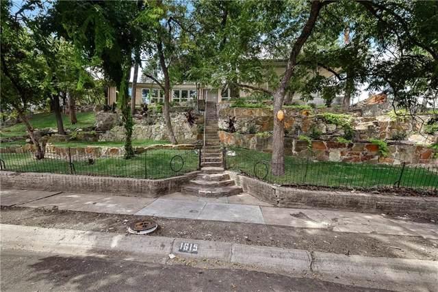 1615 Ramsey Avenue, Dallas, TX 75216 (MLS #14181001) :: Ann Carr Real Estate