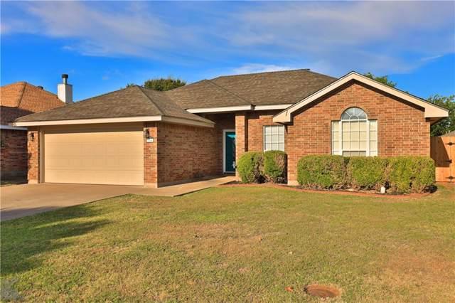 3866 Purdue Lane, Abilene, TX 79602 (MLS #14181018) :: The Real Estate Station