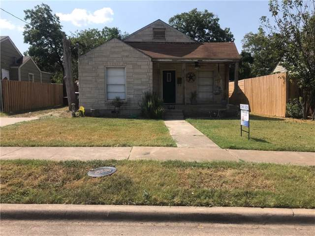 1019 Epenard Street, Dallas, TX 75211 (MLS #14181061) :: The Real Estate Station
