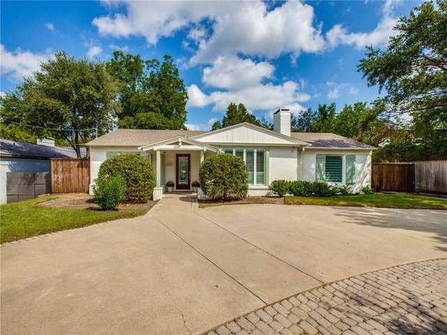 5323 W Mockingbird Lane, Dallas, TX 75209 (MLS #14181529) :: The Mitchell Group