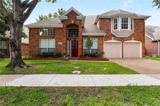 306 Riverwalk Lane, Irving, TX 75063 (MLS #14181571) :: All Cities Realty