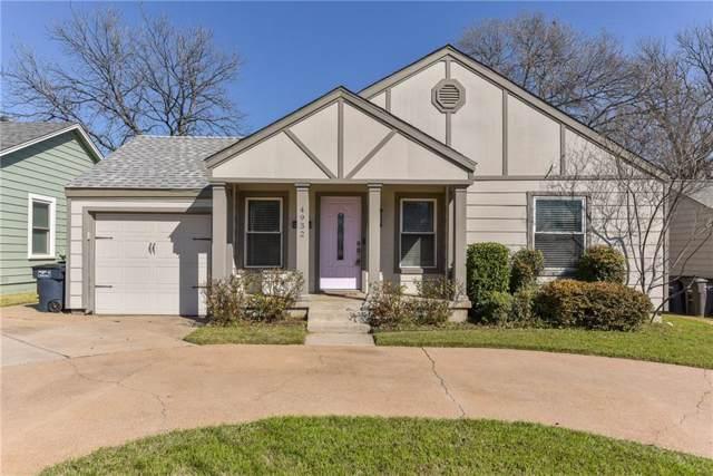 4932 Birchman Avenue, Fort Worth, TX 76107 (MLS #14181823) :: Real Estate By Design