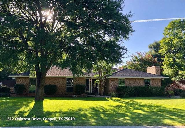 512 Oakcrest Drive, Coppell, TX 75019 (MLS #14181839) :: The Heyl Group at Keller Williams