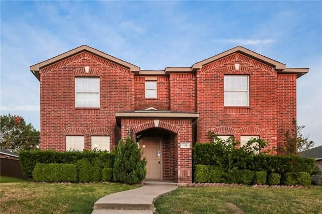 1113 Beeblossom Drive, Desoto, TX 75115 (MLS #14182134) :: Kimberly Davis & Associates